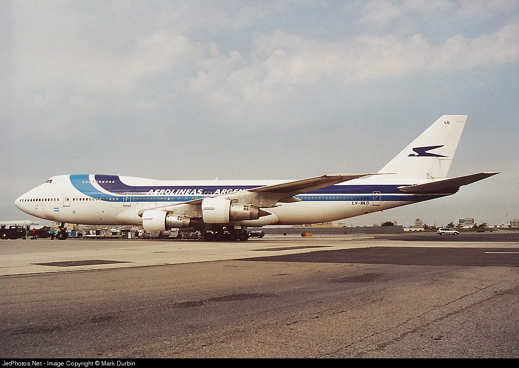 LV-MLO - Boeing 747-287B - Aerolíneas Argentinas