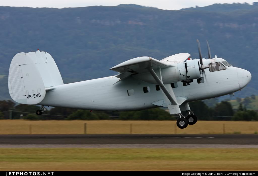 VH-EVB - Scottish Aviation Twin Pioneer 3 - Private