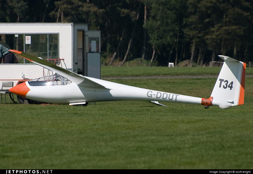 G-DDUT - Schleicher ASW-20 - Private