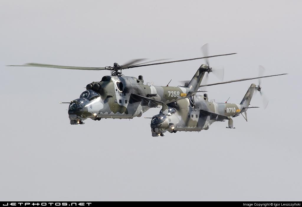 0710 - Mil Mi-24V Hind E - Czech Republic - Air Force