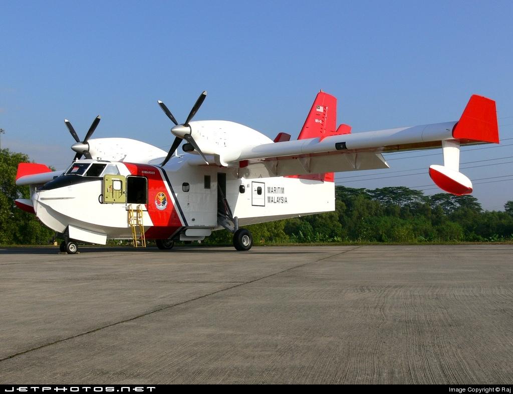 M71-01 - Canadair CL-415 - Malaysia - Maritime