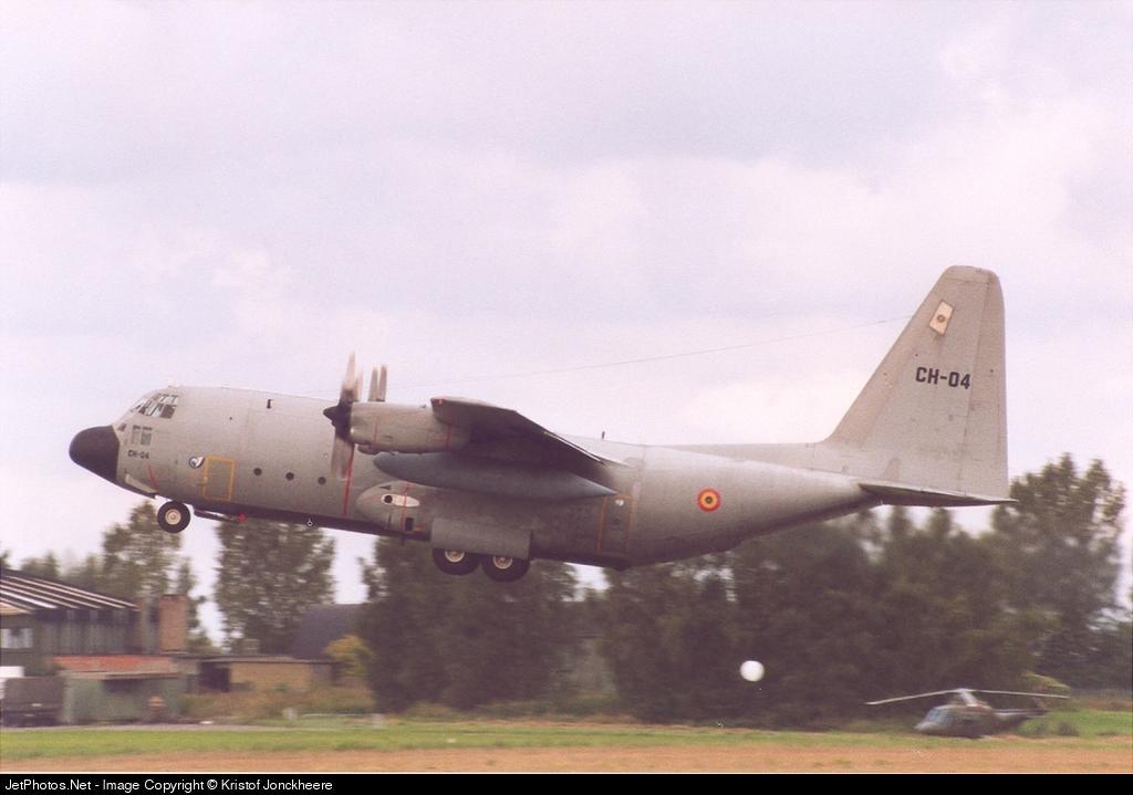 CH-04 - Lockheed C-130H Hercules - Belgium - Air Force