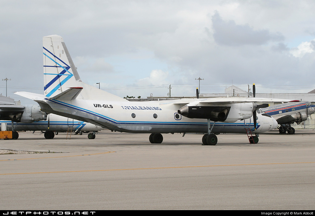 UR-GLS - Antonov An-26 - Avialeasing Aviation Company
