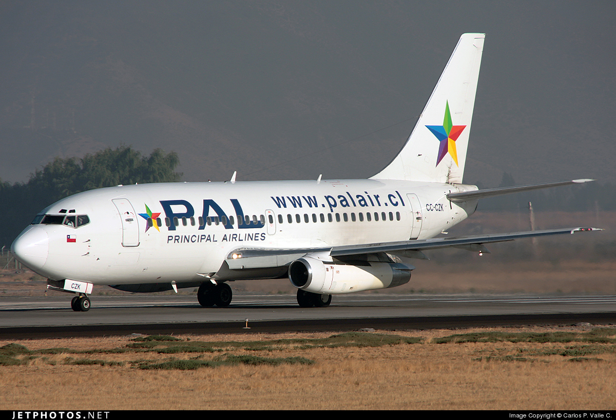 CC-CZK - Boeing 737-236(Adv) - Aerolínea Principal
