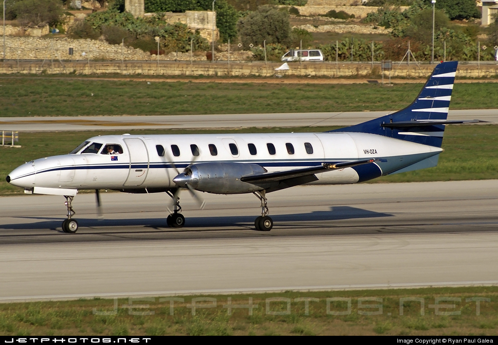 VH-OZA - Fairchild SA227-AC Metro III - Avtex Air Services