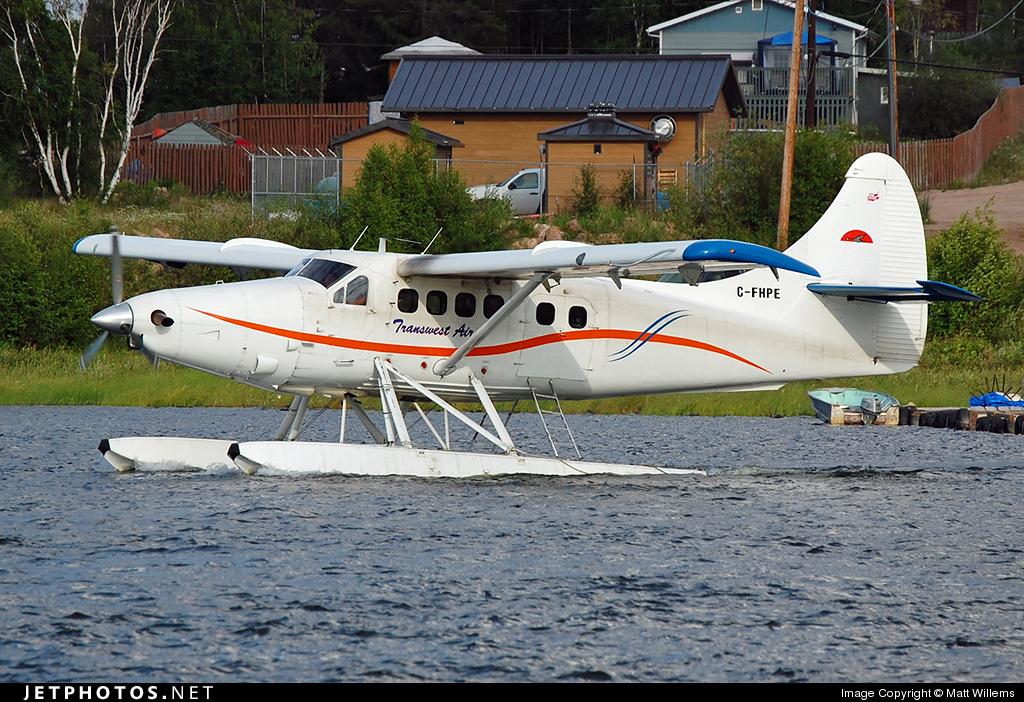 C-FHPE - De Havilland Canada DHC-3T Vazar Turbine Otter - Transwest Air
