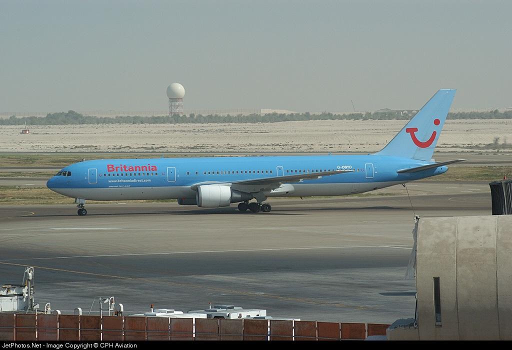 G-OBYD - Boeing 767-304(ER) - Britannia Airways