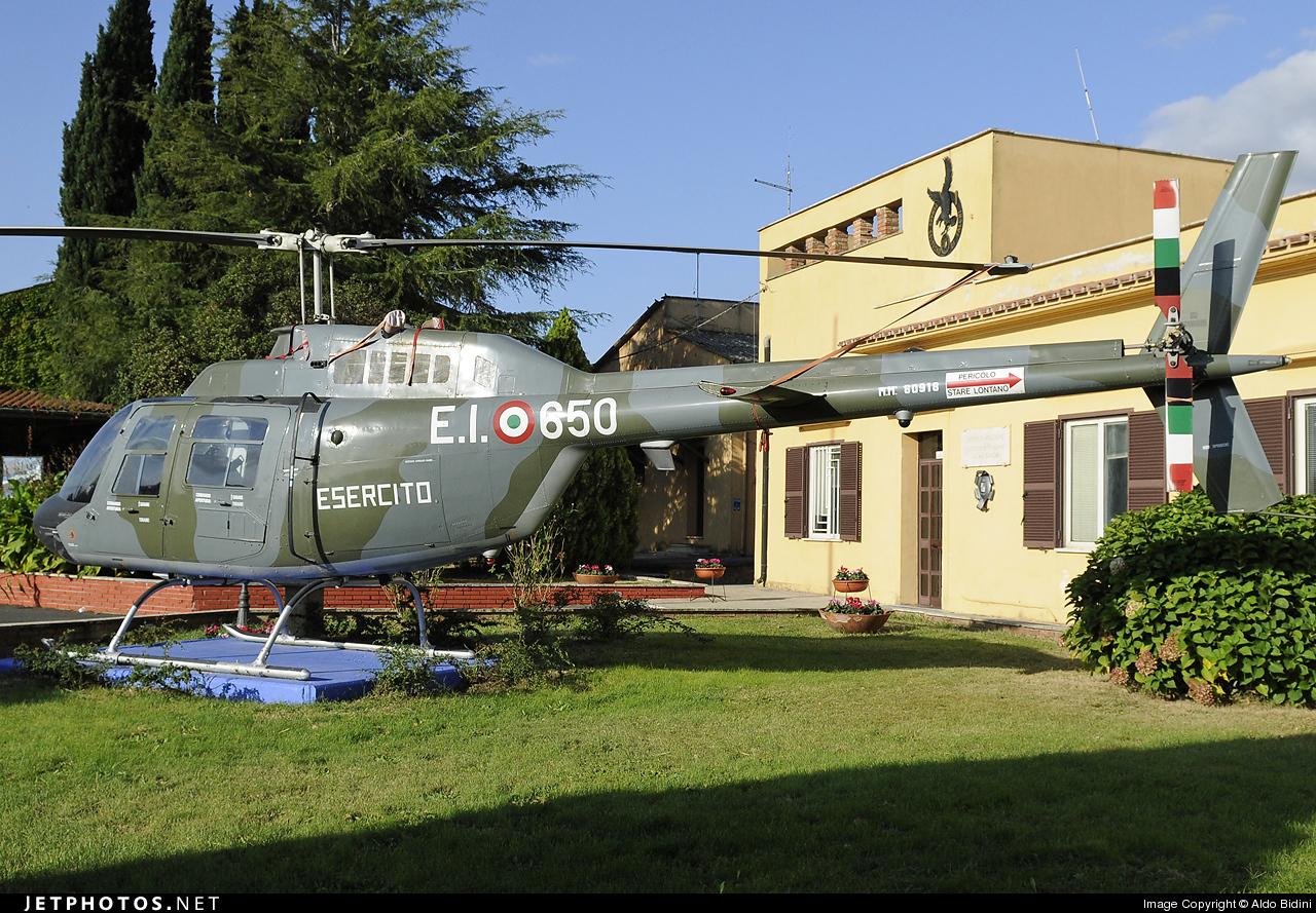 MM80918 - Agusta-Bell AB-206B JetRanger III - Italy - Army