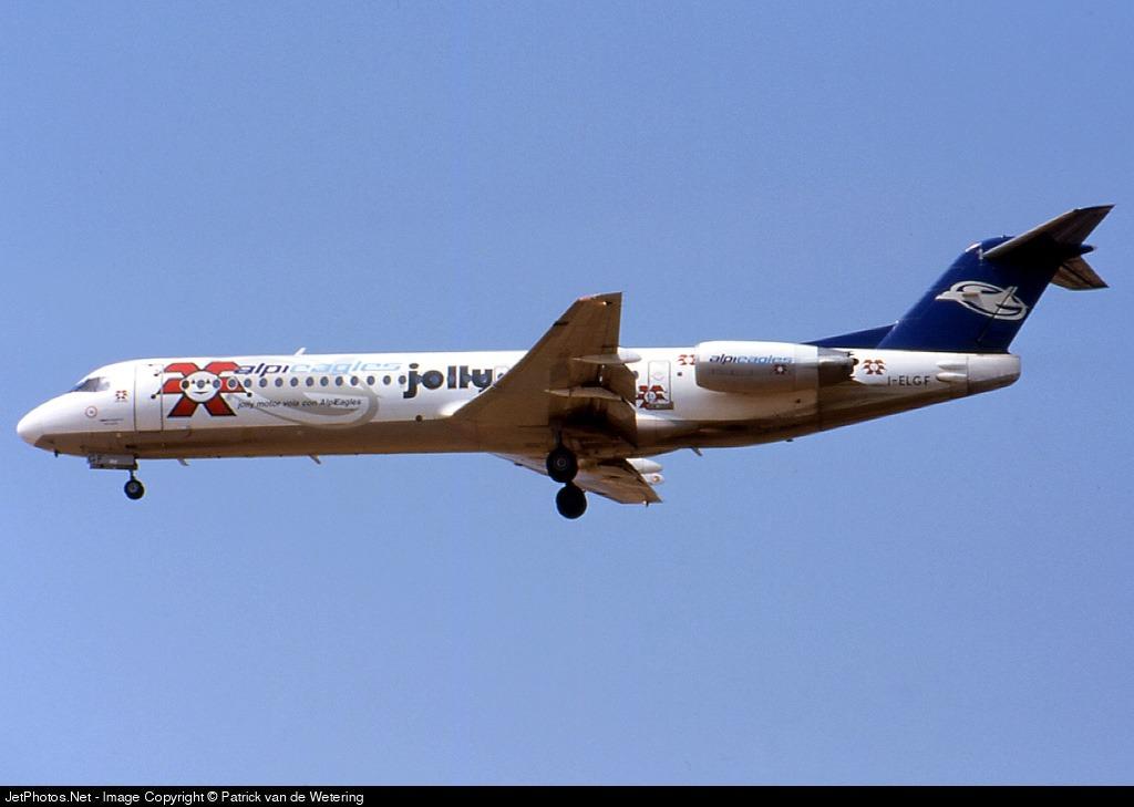 I-ELGF - Fokker 100 - Alpi Eagles
