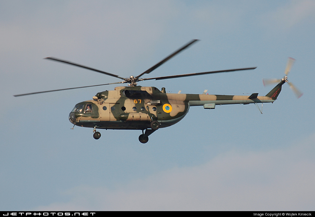 67 - Mil Mi-8MT Hip - Ukraine - Air Force