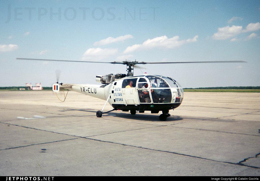 YR-ELU - IAR-316B - Aviatia Utilitara Pitesti