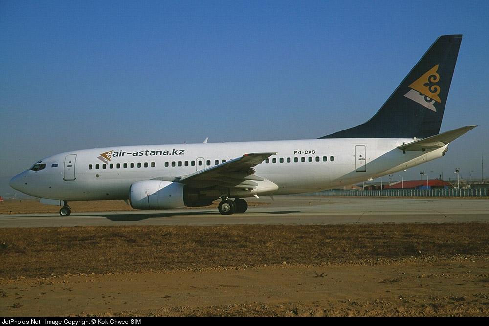 P4-CAS - Boeing 737-7Q8 - Air Astana