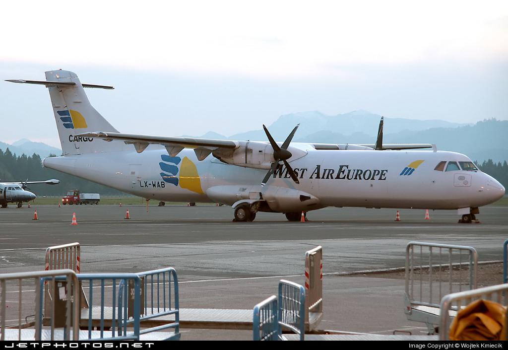 LX-WAB - ATR 72-201(F) - West Air Europe