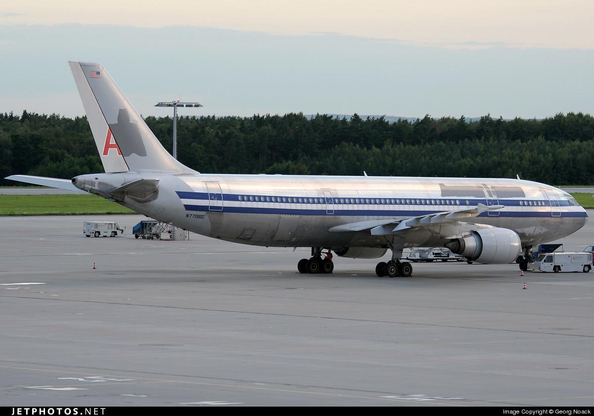 N77080 - Airbus A300B4-605R - American Airlines