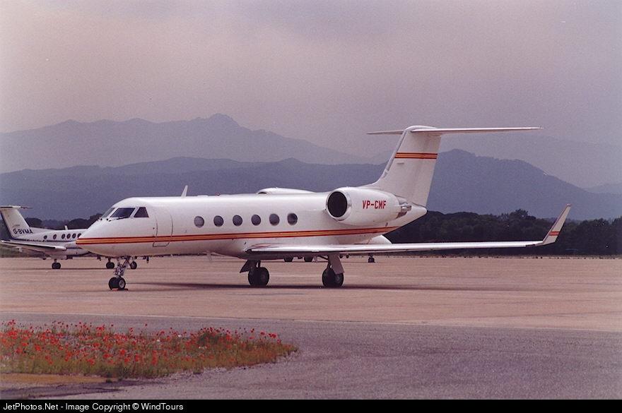 VP-CMF - Gulfstream G-IV - Private