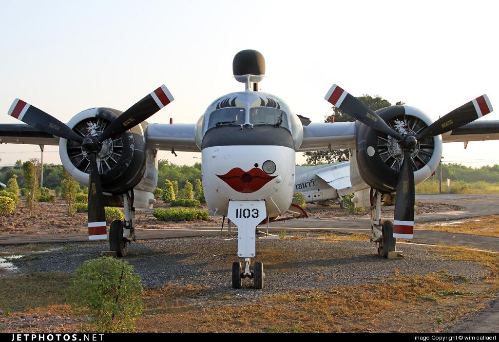 1103 - Grumman S-2F-1 Tracker - Thailand - Royal Thai Navy