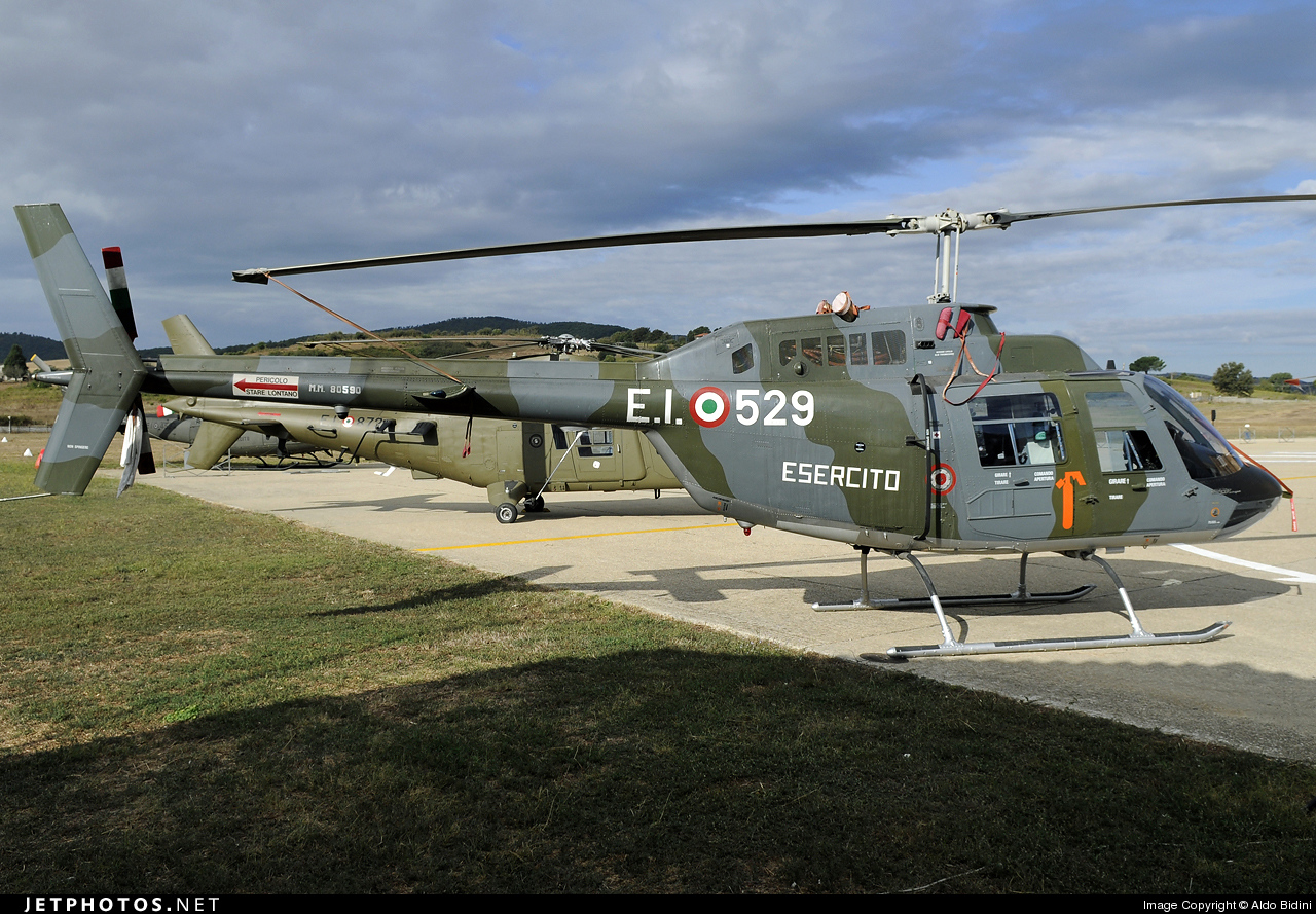 MM80590 - Agusta-Bell AB-206B JetRanger III - Italy - Army
