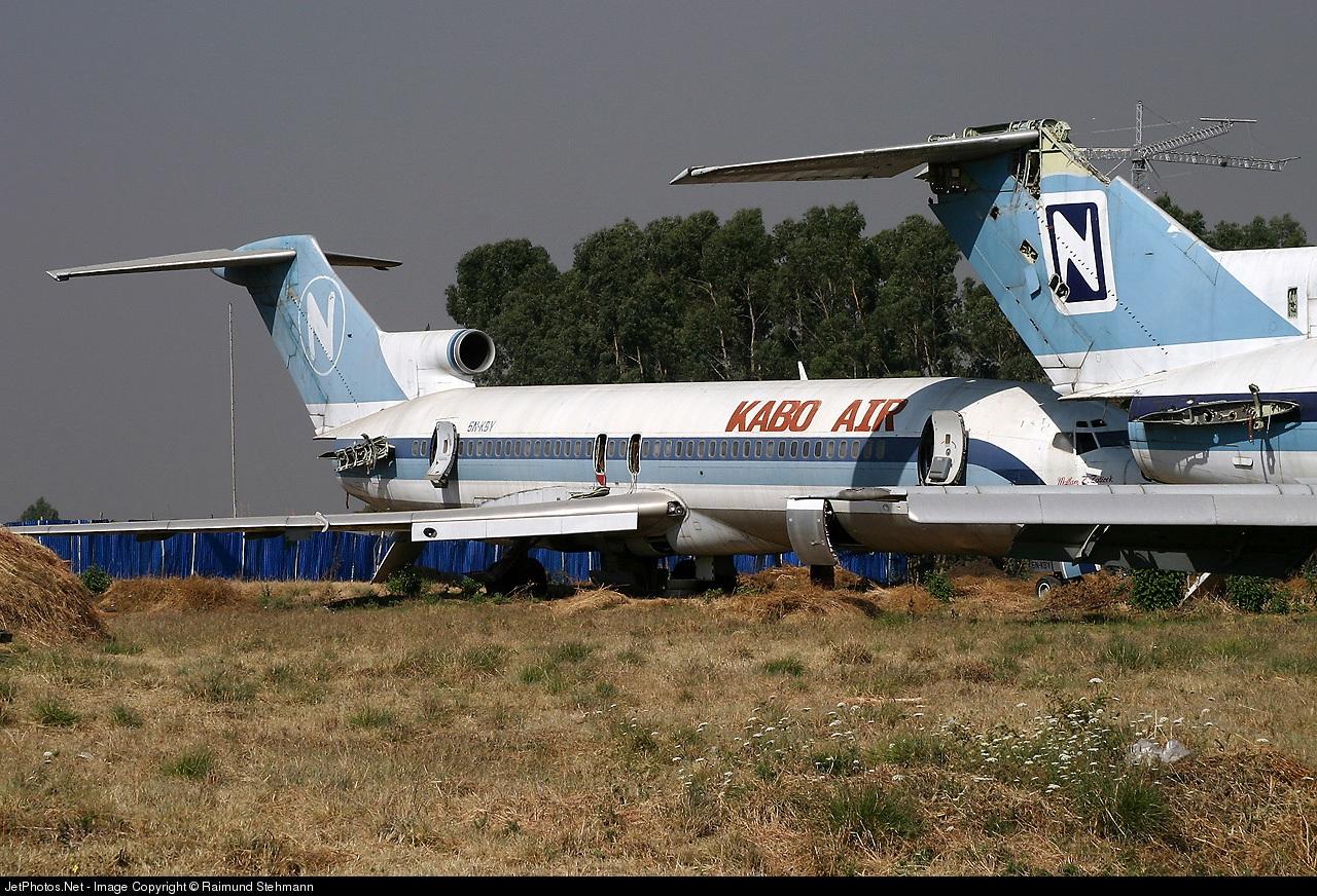 5N-KBY - Boeing 727-225 - Kabo Air