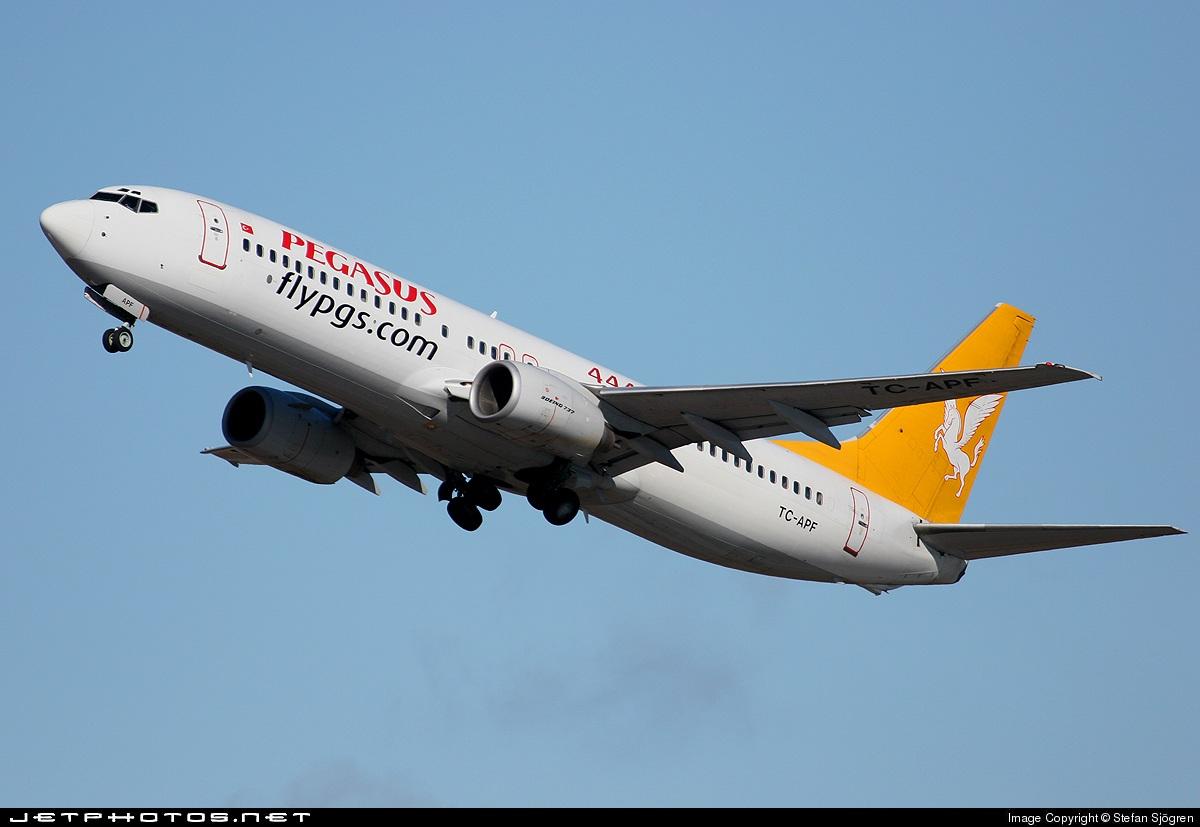 TC-APF | Boeing 737-86N | Pegasus Airlines | Stefan Sjögren | JetPhotos