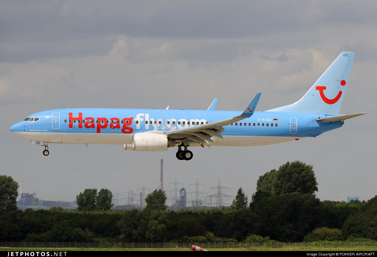 D-ATUG - Boeing 737-8K5 - TUIfly