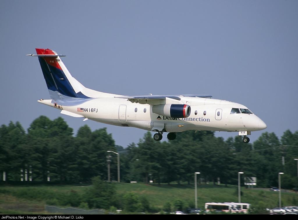 N416FJ - Dornier Do-328-300 Jet - Delta Connection (Atlantic Coast Airlines)