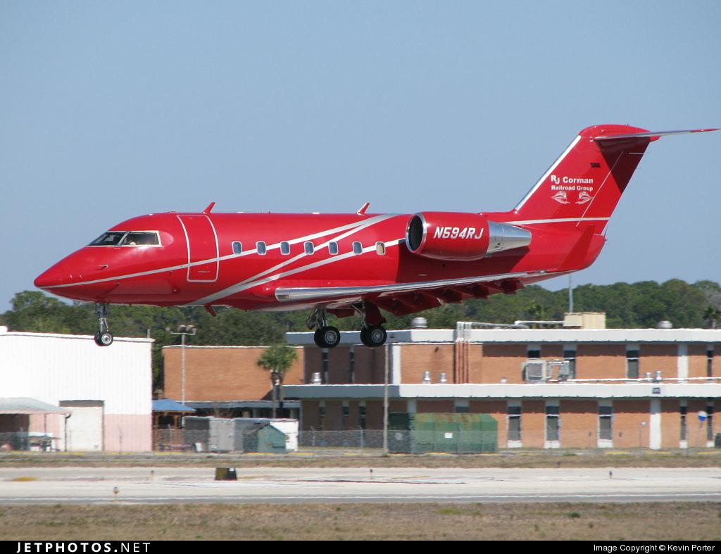 N594RJ - Bombardier CL-600-2B16 Challenger 601-3A - RJ Corman Aviation Services