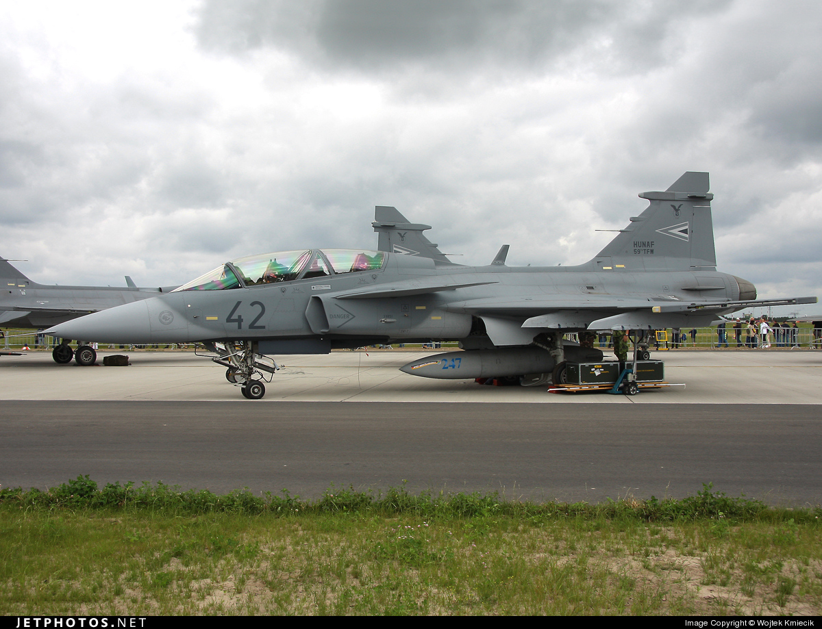 42 - Saab JAS-39D Gripen - Hungary - Air Force