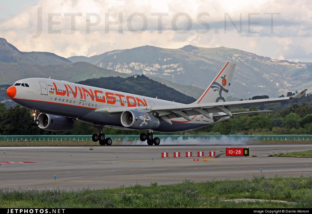 I-LIVN - Airbus A330-243 - Livingston Energy Flight
