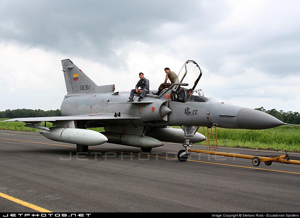FAE908 - IAI Kfir C2 - Ecuador - Air Force