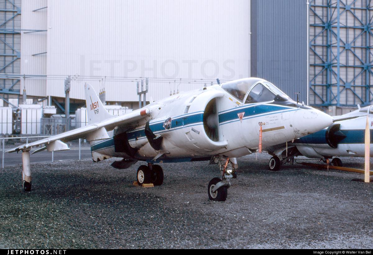N719NA - Hawker Siddeley AV-8C Harrier - United States - National Aeronautics and Space Administration (NASA)