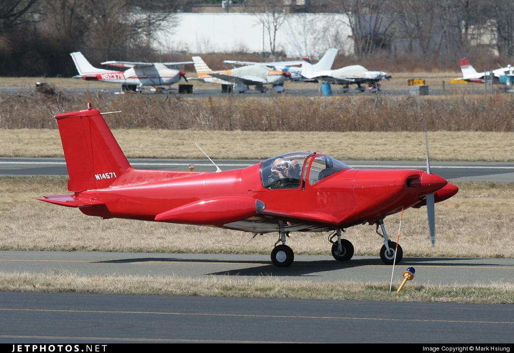 N14571 - Pazmany PL-2 - Private
