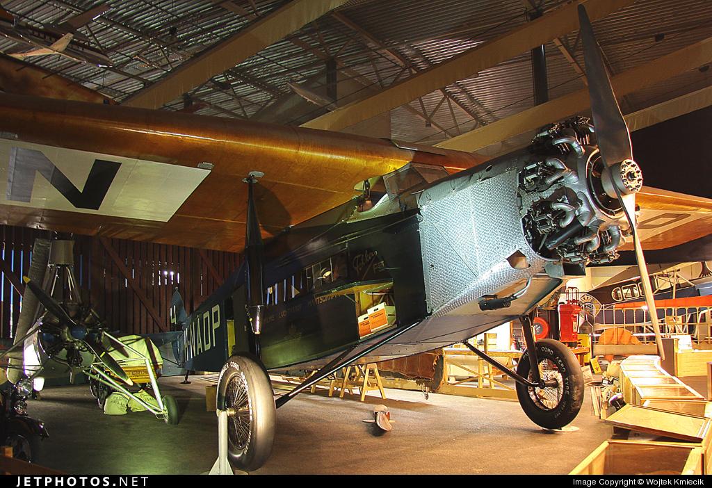 H-NADP - Fokker F.VIIa - KLM Royal Dutch Airlines
