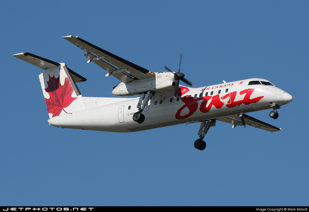C-FADF - Bombardier Dash 8-311 - Air Canada Jazz