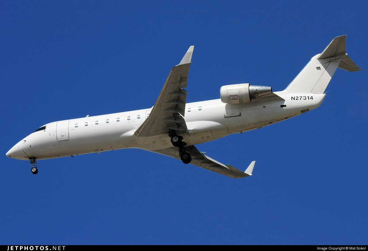 N27314 - Bombardier CRJ-200LR - Mesa Airlines