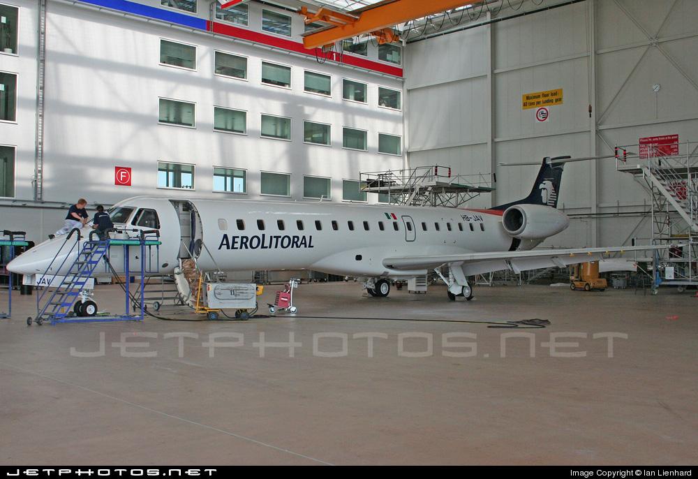 HB-JAV - Embraer ERJ-145LU - Aerolitoral
