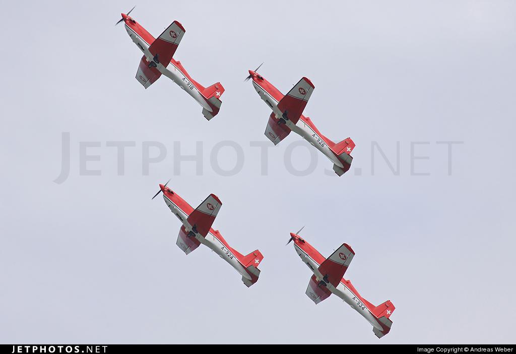 A-918 - Pilatus PC-7 - Switzerland - Air Force