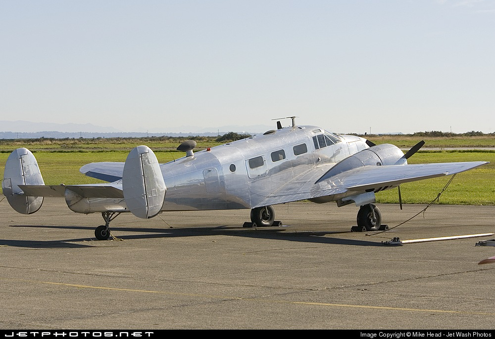 N118DJ - Beech UC-45F Expeditor - Private