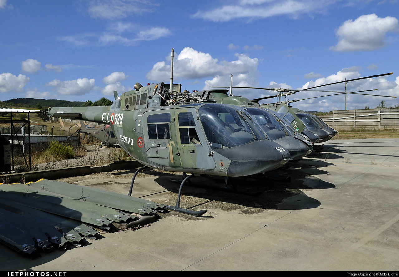 MM80897 - Agusta-Bell AB-206A JetRanger - Italy - Army