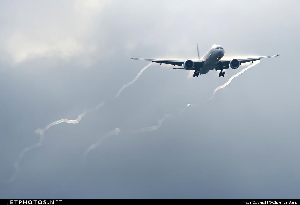 F-GSQM - Boeing 777-328ER - Air France