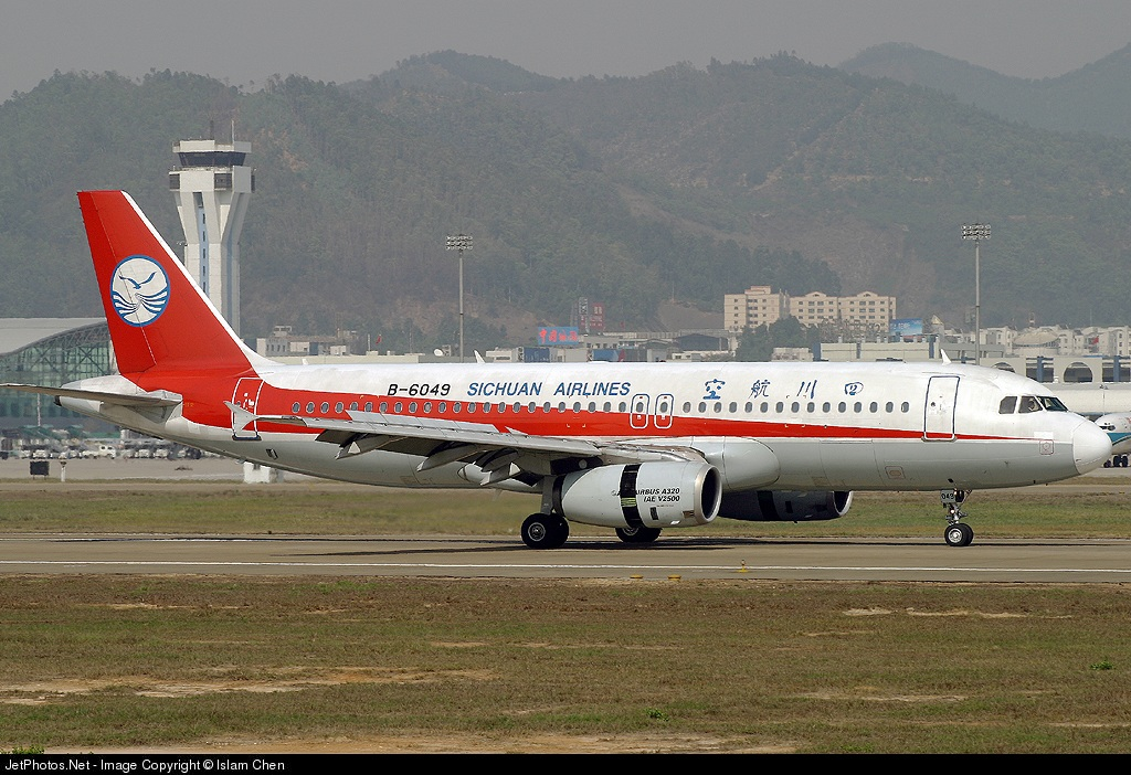 B-6049 - Airbus A320-233 - Sichuan Airlines