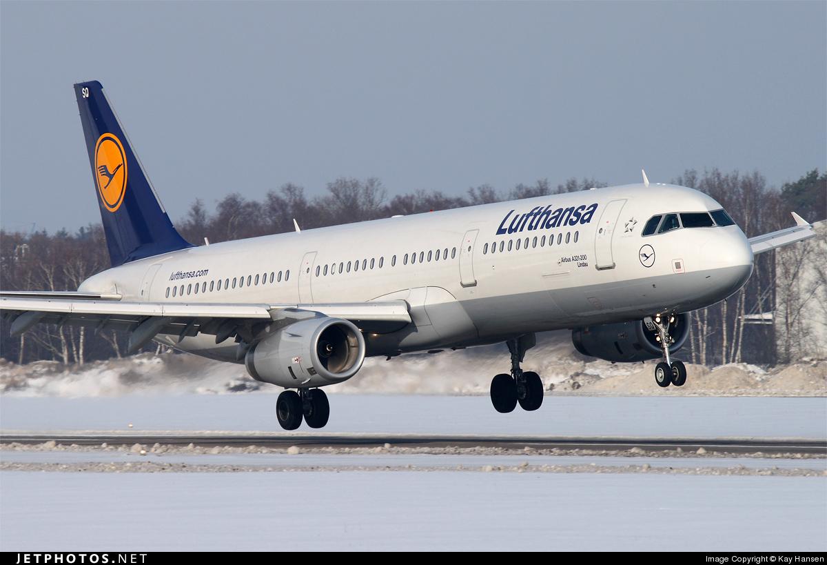 D-AISQ - Airbus A321-231 - Lufthansa