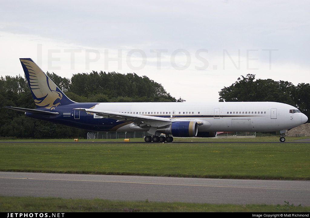N90GZ - Boeing 767-3P6(ER) - Private