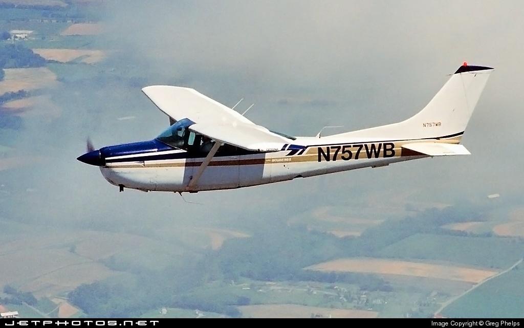 N757WB - Cessna TR182 Turbo Skylane RG - Private