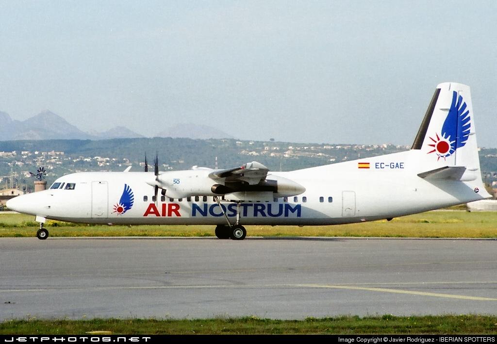EC-GAE - Fokker 50 - Air Nostrum