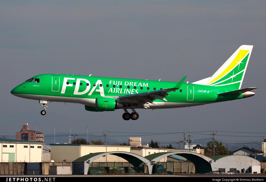 JA04FJ - Embraer 170-100SU - Fuji Dream Airlines