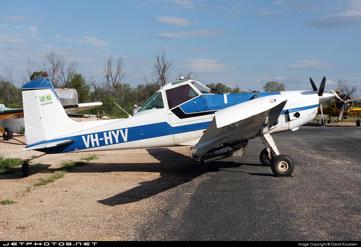 VH-HYV - Cessna A188B-A1 Ag Truck - Private