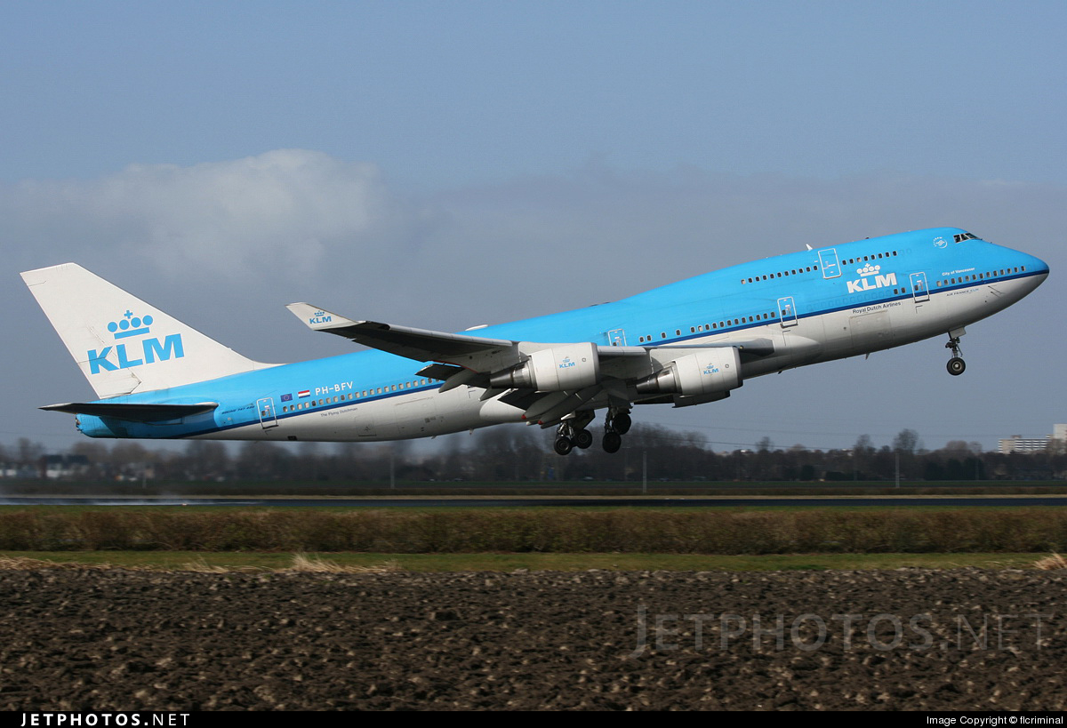 PH-BFV - Boeing 747-406(M) - KLM Royal Dutch Airlines
