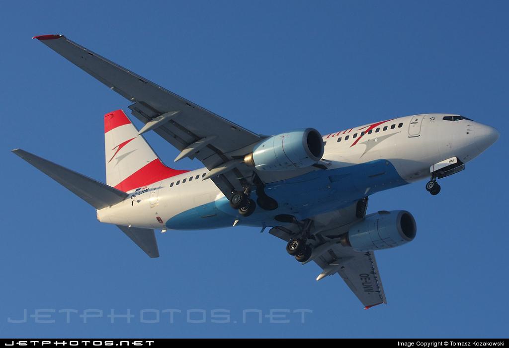 OE-LNM - Boeing 737-6Z9 - Austrian Airlines