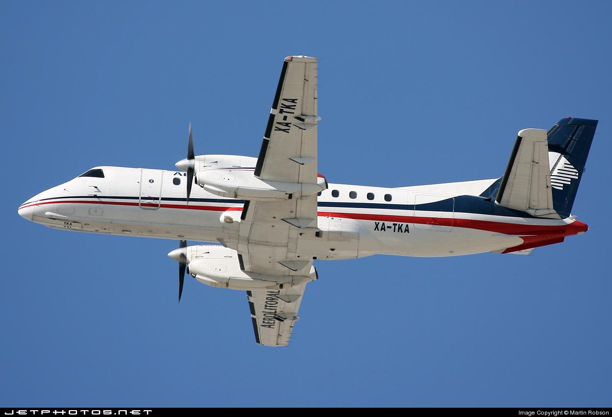 XA-TKA - Saab 340B - Aerolitoral