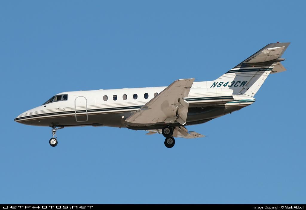 N843CW - Raytheon Hawker 800XP - Flight Options